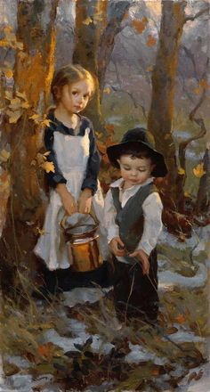 "Michael Malm, ""Pioneer Children"""