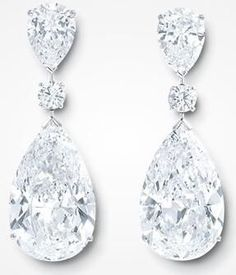 GRAFF Exceptionally Rare Diamond Earrings