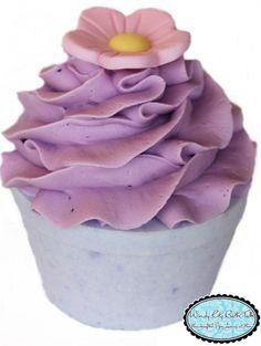 A cupcake bath bomb!