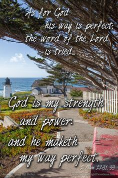 Photograph of the day By Bill Heller, Gods Way Is Perfect Bible Words, Scripture Verses, Thy Word, Word Of God, 2 Samuel, New International Version, Gods Promises, Daily Bread, True Words