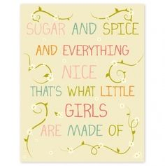 Sweet print for a girl's room