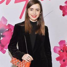 #LilyCollins wear Velvet Blazer and Turtleneck at #mollyrstern  X Sarah Chloe Jewelry Launch Dinner #fashionpost#fashionideas#fashionstyle#blogstyle#fashionpost#instablog#fashionideas#winterfashion#blogs#ideasblog