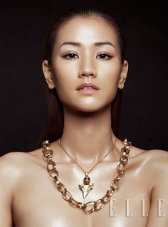 Gold Accent – The May issue of Elle Vietnam taps photographer Zhang Jingna for a beauty story focused on gold jewelry.