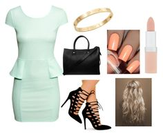 """""""Untitled #118"""" by applejac ❤ liked on Polyvore featuring H&M, Paul & Joe, Rimmel and Cachet"""