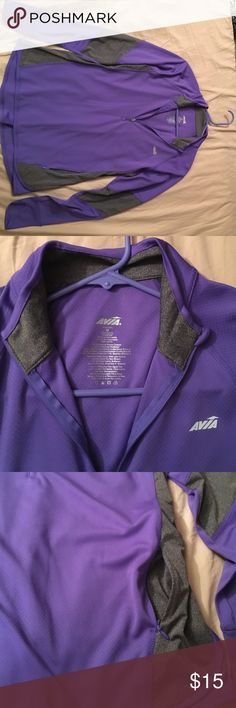 Avia Lightweight Sweater/ Active Wear Lightweight Sweater/ Active Wear. Size M. In great condition! Washed but never worn. Purple and gray color Avia Sweaters