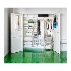 Closet organisation  - IKEA