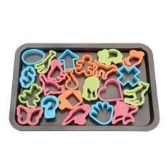 Backblech mit 22 Ausstechformen Ice Tray, Kitchen, Sheet Pan, Wish List, Cooking, Kitchens, Cuisine, Cucina