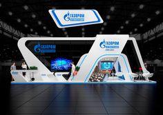 Exhibition stand,Gazprom on Behance