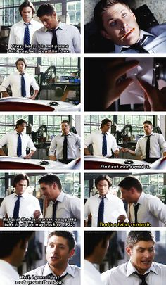 [gifset] 5x05 Fallen Idols. I'm sorry but look at the freeze frame of the second gif. Lol.