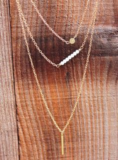 Hope Gold Layering Chain Necklace - Izzy California
