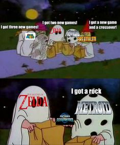 is Like Halloween for Gamers - Video Game Memes Video Game Logic, All Video Games, Video Games Funny, Video Game Characters, Funny Games, Video Game Drawings, I Understood That Reference, Super Smash Bros Memes, Metroid Prime
