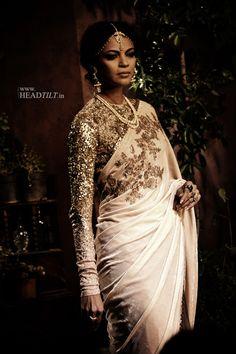 Saree by Sabyasachi - Exquisite Indian Bridal Wear, Asian Bridal, Indian Attire, Indian Ethnic Wear, India Fashion, Asian Fashion, Ethnic Fashion, Saris, Indian Dresses