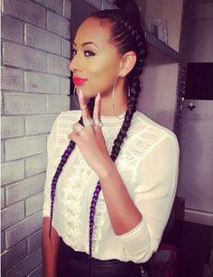 I always love Keri Hilson's braids!!!!!