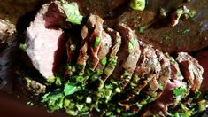 Grilled Flat Iron Steak with Chimichurri http://www.thelakekitchen.com/2014/08/04/589/