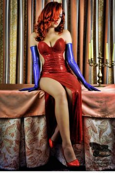 Jessica Rabbit - If I looked like this, I'm pretty sure I'd wear this EVERY DAY :)