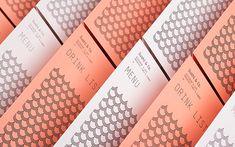 Visual identity and menus for Baltic Sea cruise ship restaurant Sushi & Co. designed by Bond Signage Design, Menu Design, Print Design, Design Blogs, Cafe Design, Layout Design, Design Art, Brand Identity Design, Graphic Design Branding
