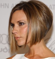 Dark brown gradual bob - Google Search