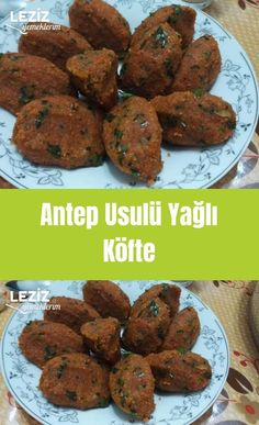 Antep Style Fatty Meatballs – My Delicious Food – The World Meat Recipes, Dinner Recipes, Food Plus, Good Food, Yummy Food, Non Stick Pan, Catering, Food Photography, Pasta