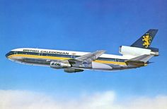 British Caledonian Airways McDonnell Douglas DC-10-30