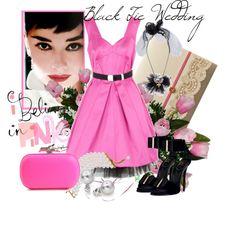 Black Tie Wedding, created by aprilgirl-rome on Polyvore