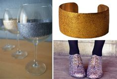 Glitterize Anything With Mod Podge and Glitter | 31 Insanely Easy And Clever DIY Projects