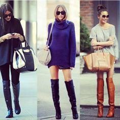 As botas #OverTheKnee continuam com tudo! Ainda não sabe como usar? Tem post com várias dicas no blog! Corre conferir! www.blogtodafutil.com.br #post #blog #todafutil #botas #inverno #favoritos #preferido #moda #tendência #estilo #glamour #shoes #boots #ilove #tagsforlike #instablog #instalike #instafollow