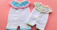 Marianna's Lazy Daisy Days: Top Down All-in-One Romper Suits Baby Romper Pattern Free, Baby Cardigan Knitting Pattern Free, Baby Boy Knitting Patterns, Knitted Doll Patterns, Doll Dress Patterns, Baby Hats Knitting, Baby Patterns, Free Knitting, Charity Knitting