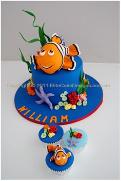 Finding Nemo Cake Nemo birthday party ideas Pinterest