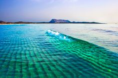 Crystal clear blue green water of Costa Smeralda in Sardinia, Italy #costasmeralda #sardinia #italy #bluegreenwater
