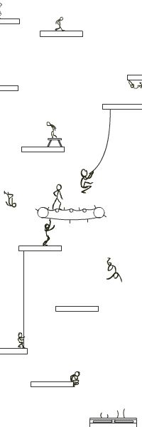 Click on image for original animated gifs of stick men