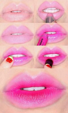 Pink lips-how to