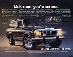 Vintage Jeep Cherokee  the things id do to get one of these..