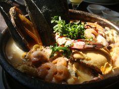 paila marina chile - Buscar con Google Chile, Ramen, Meat, Ethnic Recipes, Food, Google, Chili, Hoods, Meals