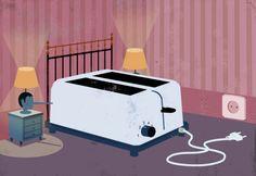 온열질 수면