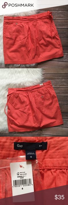 Gap Coral Skirt NWT  Waist-15 1/2 inches  Length-15 1/2 inches   No holds No trades  No modeling   158 GAP Skirts