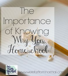 Knowing the answer to that question can help you through tough days. Tough Day, How To Start Homeschooling, Teaching Methods, Study Materials, Mom Hacks, Homeschool Curriculum, Toddler Activities, Learning Activities, Early Learning
