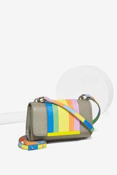 Chroma Striped Crossbody Bag #bag