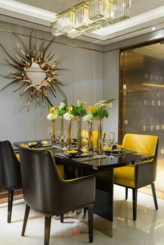 4 Enticing Tips: Dining Furniture Buffet China Cabinets contemporary dining furniture home.Outdoor Dining Furniture How To Build dining furniture ideas lamps. Luxury Dining Room, Dining Room Design, Dining Area, Dining Tables, Dining Rooms, Kitchen Tables, Design Kitchen, Outdoor Dining, Interior Desing