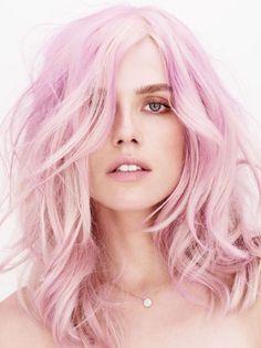 Pink tresses
