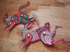 Paper animals by Karolin Schnoor - can be purchased at her Etsy shop