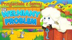 Bajka dla dzieci - Przyjaciele z farmy - Wełniany problem