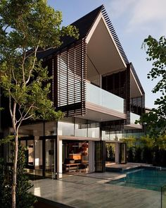 Casa Sentosa Cove by MKPL Architects #instarch #instalike #instahouse #Residence…