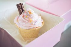 Ice cream cone cupcake (byversion3point1)
