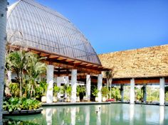 Hotel Mayan Palace, Nuevo Vallarta, Nayarit, Mexico, Desp AHA Arquitectura Gazebo, Pergola, Roofing Materials, Outdoor Rooms, Places Ive Been, Outdoor Structures, Construction, Skylights, Palace