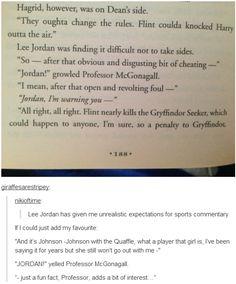 Lee Jordan - le meilleur commentateur de sport que je connaisse.