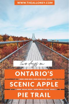 Two day itinerary across Ontario's Apple Pie Trail in South Georgian Bay Ontario. It includes the best stops that you must check out. Places To Travel, Places To See, Travel Destinations, Ontario Travel, Ontario Camping, Alberta Canada, Ottawa, Quebec, Montreal