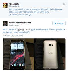 awesome Un par de fotos del HTC 10 se filtran antes del lanzamiento del teléfono