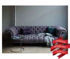 purple chesterfield sofa - Google Search