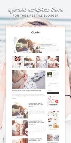 Introducing Glam: A Lifestyle Genesis Theme