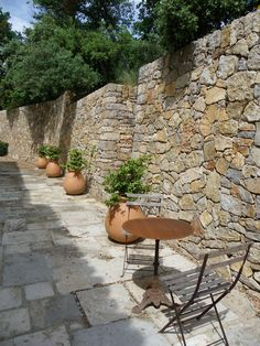 Aix en Provence'  What a beautiful wall!